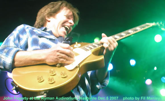 Fogerty at the Ryman